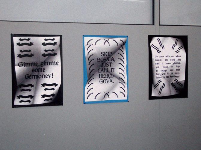 Three posters by Aleksandar Todorovic