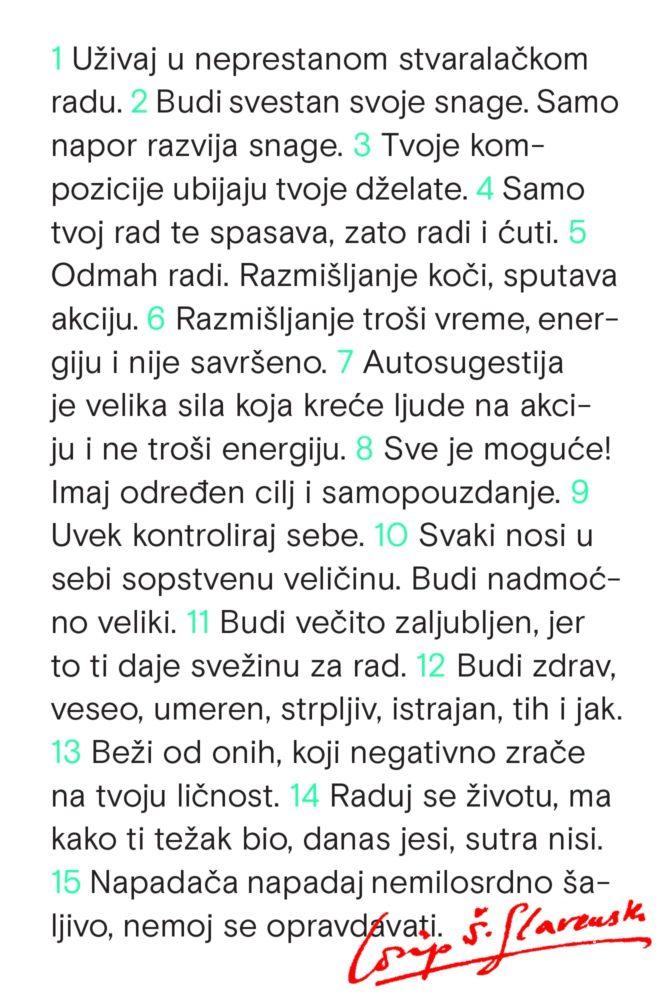Josip Štolcer Slavenski pravila